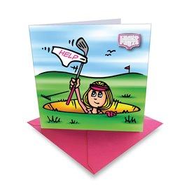 Ball Marker Card Betty Bunker