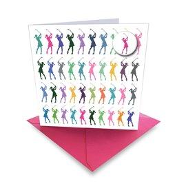 Ball Marker Card Rainbow Golf
