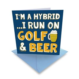 Ball Marker Card Golf & Beer