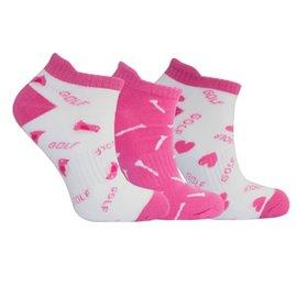 3 Paar Sokken Roze