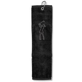 Surprizeshop Handdoek Zwart
