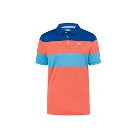 KJUS Luan CB Polo Oranje/Blauw
