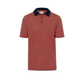 KJUS Luis Stripe Polo S/S Oranje