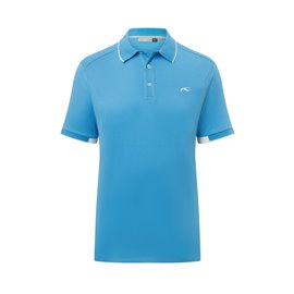 KJUS Stan Polo S/S Aqua Splash