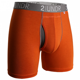 2UNDR Swing Shift Boxershort Oranje