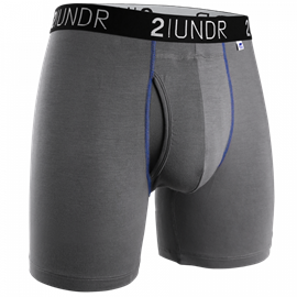 2UNDR Swing Shift Boxershort Grijs