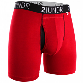 2UNDR Swing Shift Boxershort Rood