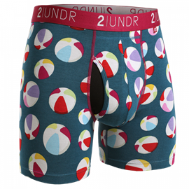2UNDR Swing Shift Boxershort Beach Balls
