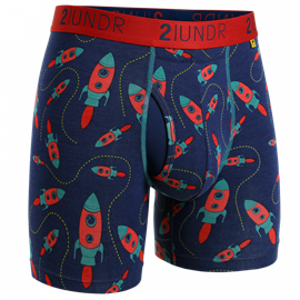 2UNDR Swing Shift Boxershort Rockets