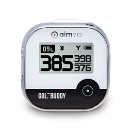 GolfBuddy aim V10 Golf GPS Chrome
