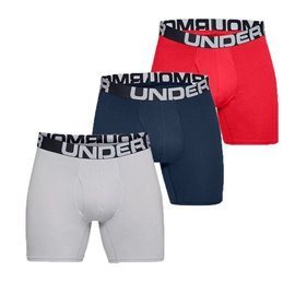 Under Armour Boxershorts 3-Pack Rood/Navy/Wit