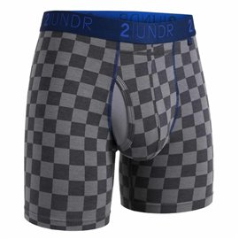 2UNDR Swing Shift Boxershort Checkmate