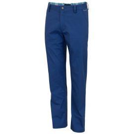 Dwyers & Co Titanium Chino Broek Kobalt Blauw
