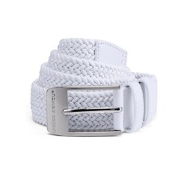 Under Armour Riem Braided 2.0 Wit