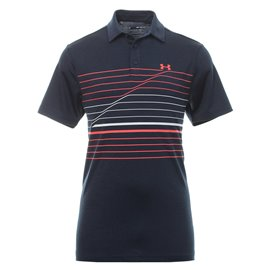 Under Armour Playoff Polo 2.0 Navy/Oranje/Wit