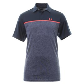 Under Armour Playoff Polo 2.0 Navy/Blauw