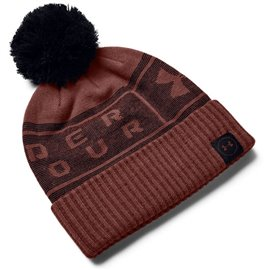 Under Armour Herenbeanie Pom Rood