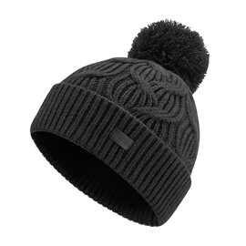 Under Armour Damesbeanie Around Town Pom Zwart