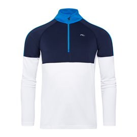 KJUS Race Midlayer Blauw/Wit