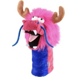 Daphne's Driver Headcover Pink Dragon