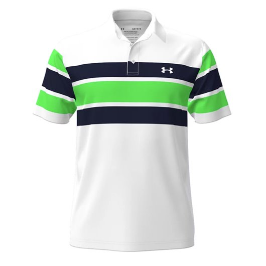 Under Armour Playoff Polo 2.0 Wit/Groen