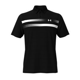 Under Armour Performance Polo Graphic Zwart
