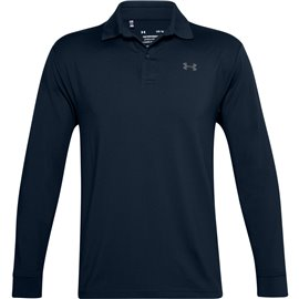Under Armour Performance LS Polo Navy