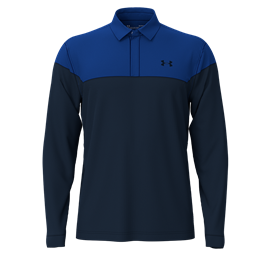 Under Armour LS Playoff Novelty Polo Royal