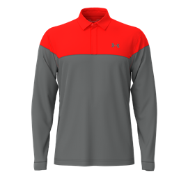 Under Armour LS Playoff Novelty Polo Phoenix Fire