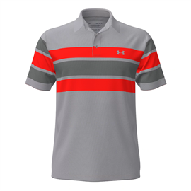 Under Armour Playoff 2.0 Polo Shirt Gray Wolf