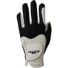 FIT39EX Golfhandschoen Wit/Zwart