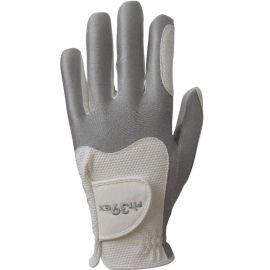 FIT39EX Golfhandschoen Wit/Zilver