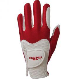 FIT39EX Golfhandschoen Wit/Rood