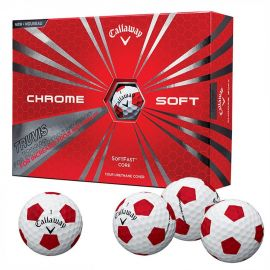 Callaway Chrome Soft Truvis Rood/Wit