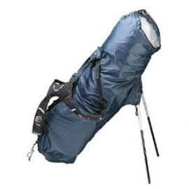 Legend Regenhoes Stand Bag Zwart