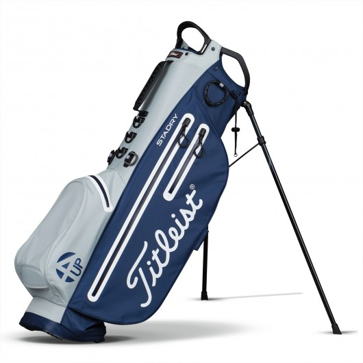 Titleist 4Up StaDry Stand Bag Grijs