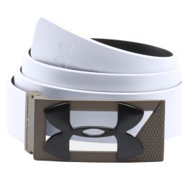 Under Armour Leren Riem Wit