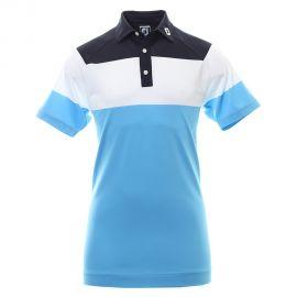 FootJoy Raglan Pique Polo Blauw