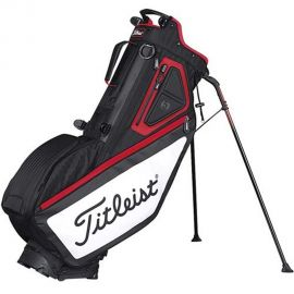 Titleist Players 5 Stand Bag Zwart/Rood