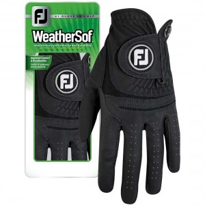 FootJoy WeatherSof Zwart Links