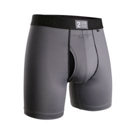 2UNDR Power Shift Boxershort Grijs