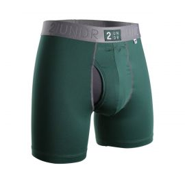 2UNDR Power Shift Boxershort Groen