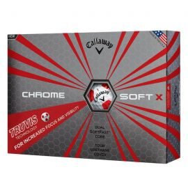 Callaway Chrome Soft X Truvis Rood