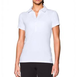 Under Armour Dames Polo Wit