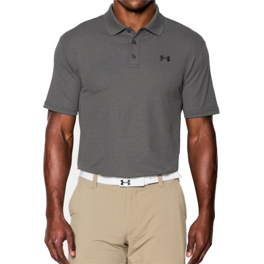Under Armour Performance Polo Donkergrijs
