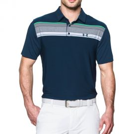 Under Armour Playoff Polo Blauw/Groen