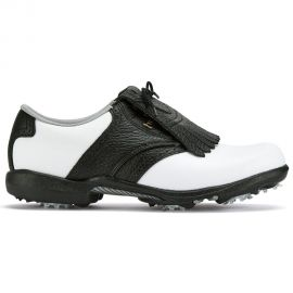 FootJoy DryJoys Dames Wit/Zwart