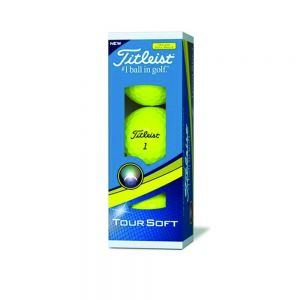 Titleist Tour Soft Geel
