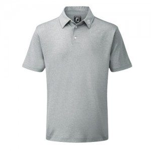 Footjoy Pique Polo Athletic Fit Grijs