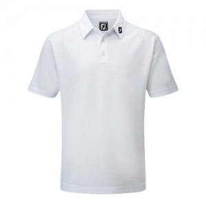 Footjoy Pique Polo Athletic Fit Wit